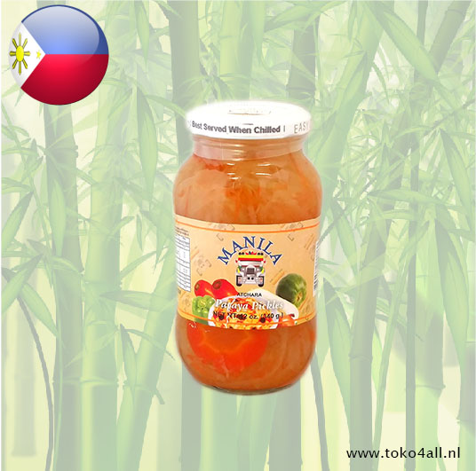 Toko 4 All - Papaya Atchara 340 gr Manila