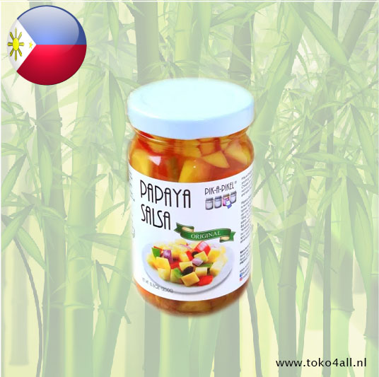 Toko 4 All - Papaya Salsa Original 250 gr Pik A pikel