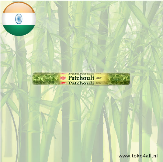Toko 4 All - Patchouli Incense Sticks 20 sticks Hem