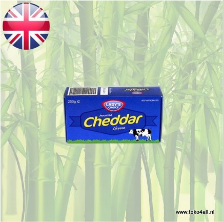 Toko 4 All - Cheddar Cheese 200 gr Ladys Choice