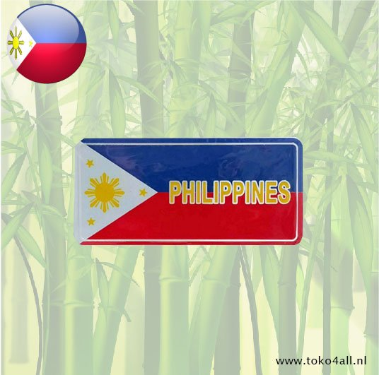 Toko 4 All - My Little Philippines - Philippine Flag Sticker