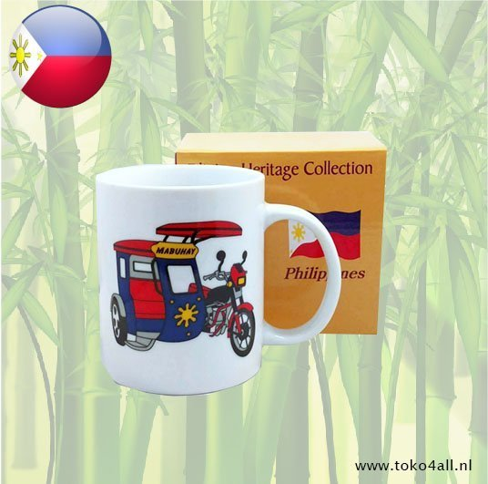 Toko 4 All - My Little Philippines - Philippine Mug Tricycle Heritage Collection