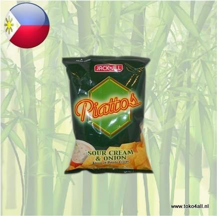 Toko 4 All - Piattos Sour Cream and Onion Chips 85 gr Jack N Jill