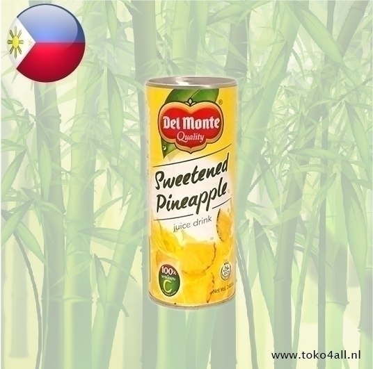 Toko 4 All - My Little Philippines - Pineapple Juice Sweetened 240 ml Del Monte