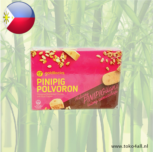 Toko 4 All - Pinipig Polvoron 300 gr Goldilocks