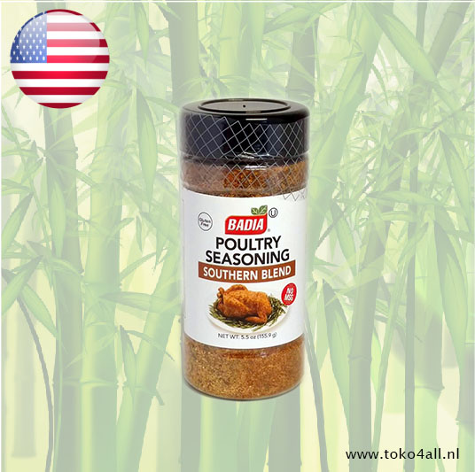 Toko 4 All - Poultry Seasoning Southern Blend 155 gr Badia