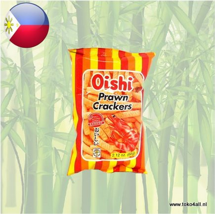 Toko 4 All - Prawn Crackers Regular 60 gr Oishi