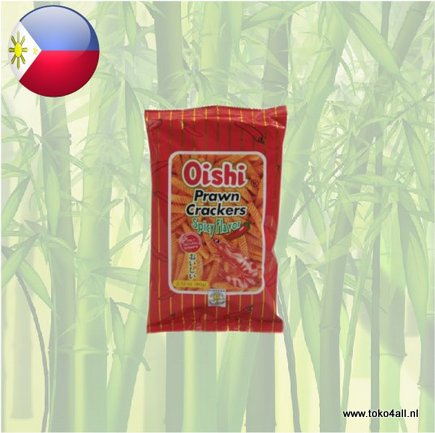 Toko 4 All - Prawn Crackers Spicy 60 gr Oishi