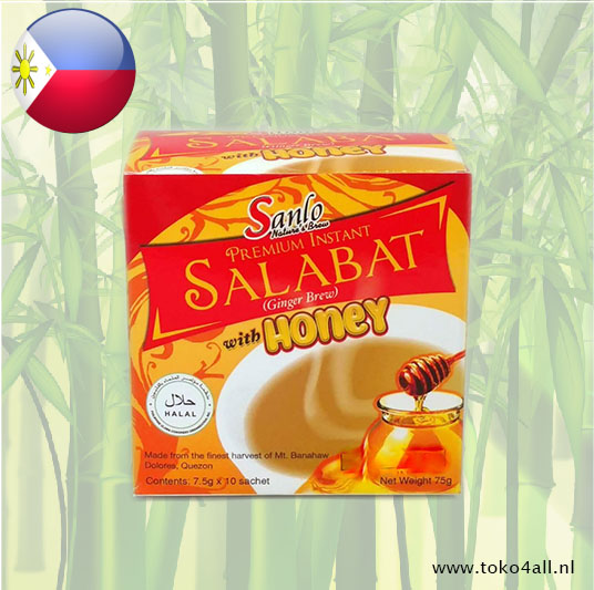Toko 4 All - Premium Instant Salabat With Honey 75 gr Sanlo