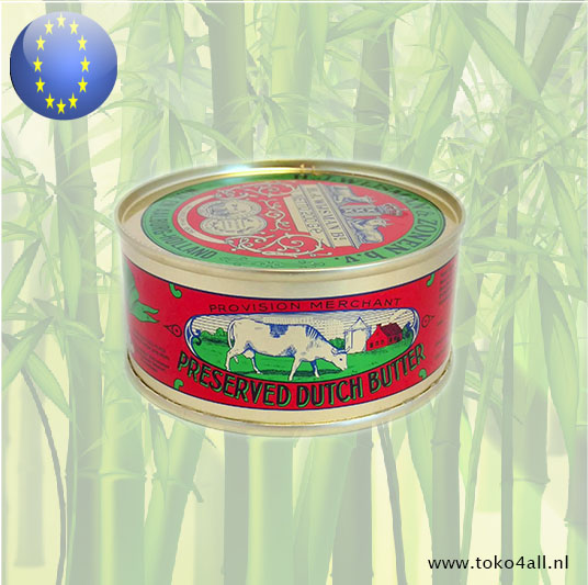 Toko 4 All - Preserved Dutch Butter 200 gr Wijsman