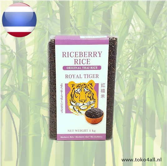 Toko 4 All - Riceberry rijst 1 kilo Royal Tiger