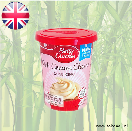 Toko 4 All - Rich Cream Cheese Style Icing 400 gr Betty Crocker