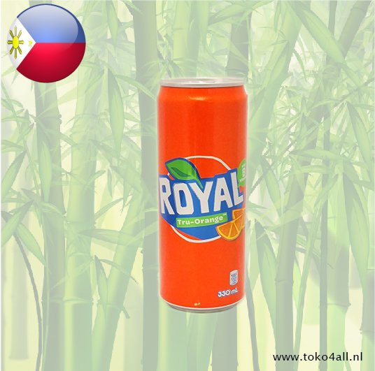 Toko 4 All - Royal Tru Orange 330 ml Coca Cola Company