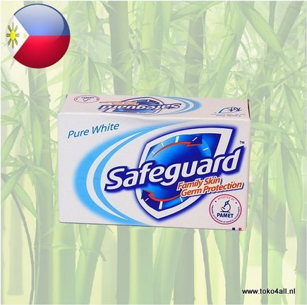 Toko 4 All - My Little Philippines - Safeguard Pure White Zeep 135 gr