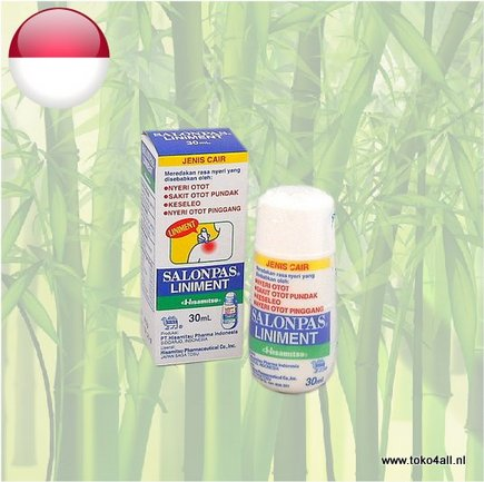 Toko 4 All - Salonpas Liniment 30 ml