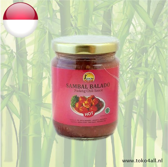 Toko 4 All - Sambal Balado Hot 250 gr Nesia