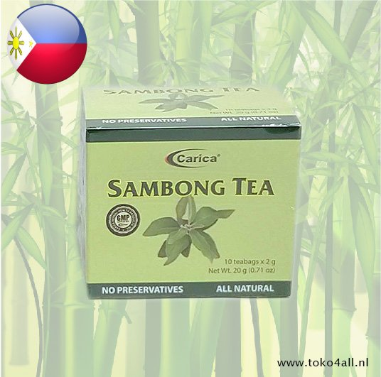 Toko 4 All - Sambong thee 20 gr Carica
