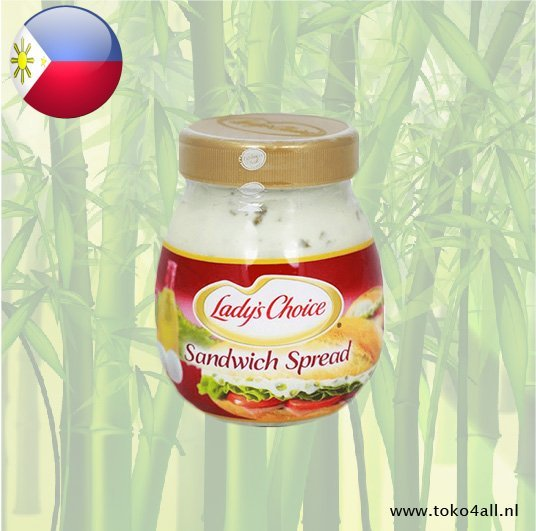 Toko 4 All - Sandwich Spread 220 ml Ladys Choice