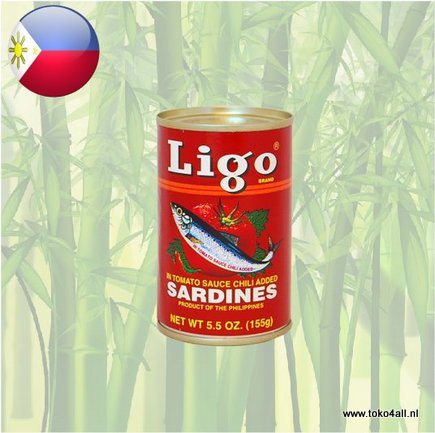 Toko 4 All - Sardines in Chili Tomato Sauce 155 gr Ligo