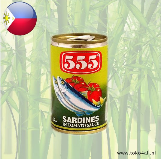 Toko 4 All - My Little Philippines - Sardines In Tomato Sauce 155 gr 555