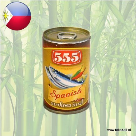 Toko 4 All - Sardines Spanish Style in oil 155 gr 555