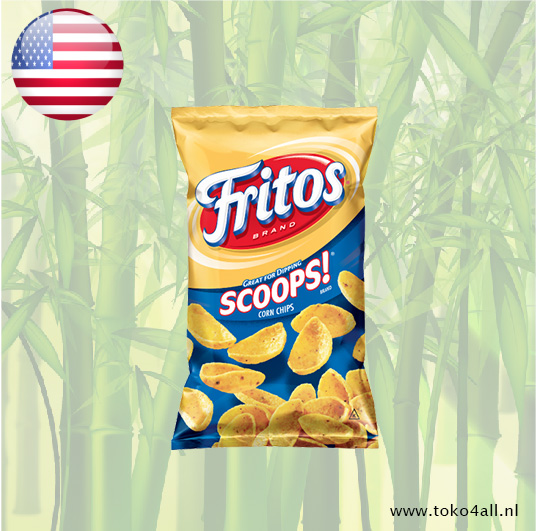 Toko 4 All - Scoops Corn Chips 311 gr Fritos