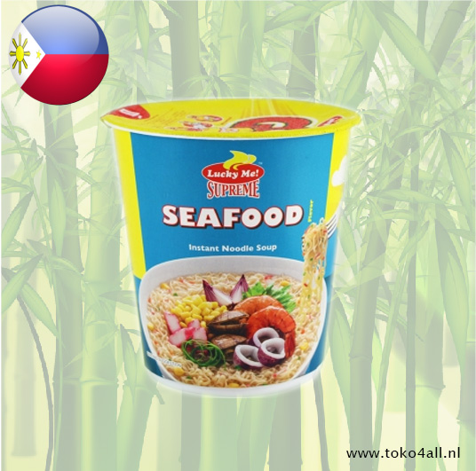 Toko 4 All - Seafood Instant Noodle soup 70 gr Lucky me