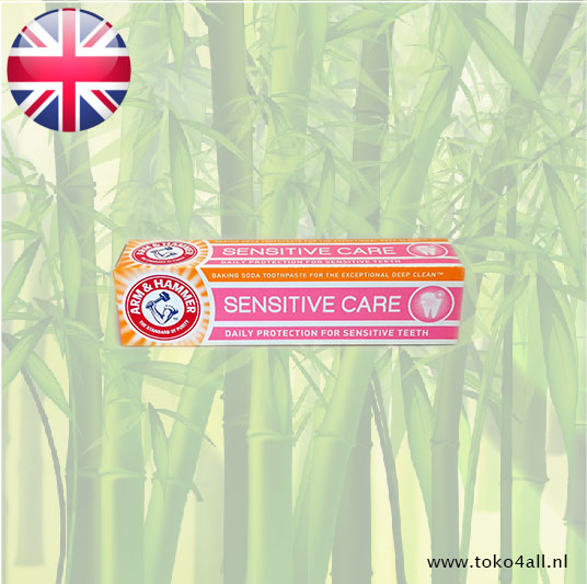 Toko 4 All - Sensitive Care tandpasta 125 gr Arm And Hammer