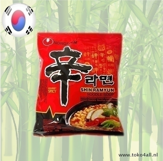 Toko 4 All - Shin Ramyun Instant Noodle 120 gr Nongshim