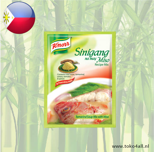 Toko 4 All - Sinigang Na May Miso Recipe Mix 25 gr Knorr