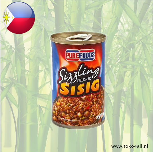 Toko 4 All - Sizzling Delights Sisig 150 gr Pure Foods