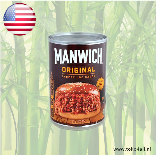 Toko 4 All - Sloppy Joe Saus Origineel 425 gr Manwich