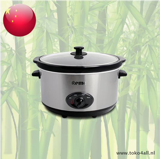Toko 4 All - Slow Cooker 6,5 liter Remo