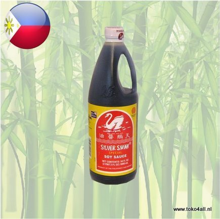 Toko 4 All - Soy Sauce 1 liter Silver Swan