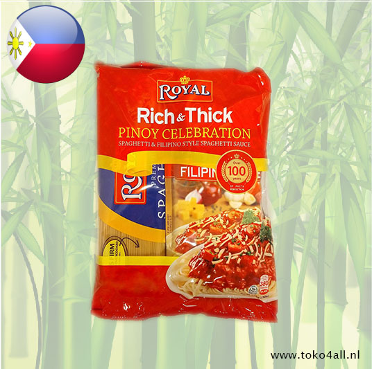 Toko 4 All - Spaghetti & Filipino style spaghetti sauce 1800 gr Royal