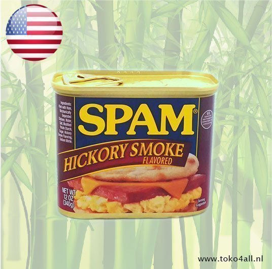 Toko 4 All - My Little Philippines - Spam Hickory Smoke 340 gr Hormel
