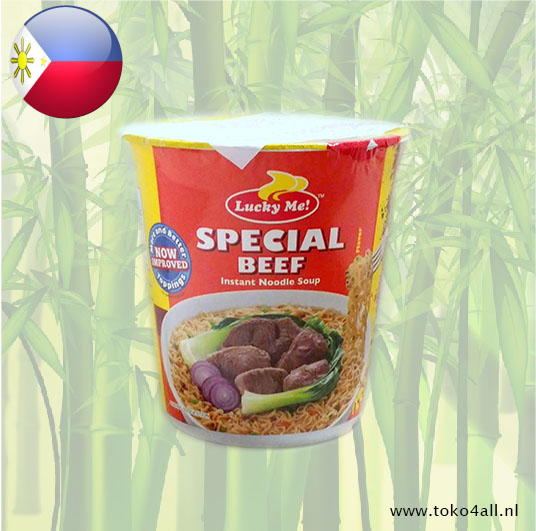 Toko 4 All - Special Beef Instant Noodle Soup 70 gr Lucky Me