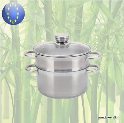 Toko 4 All - Steamer 26 cm Stainless steel Dann Cuisine