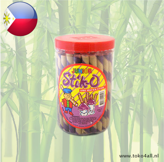 Toko 4 All - Stik-O Ube Wafer Stick 380 gr Ecco Food
