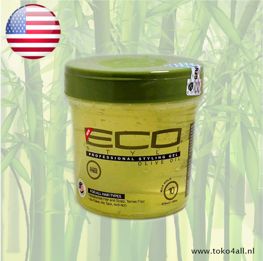 Toko 4 All - Styling Gel Factor 10 Olive Oil 473 ml Eco