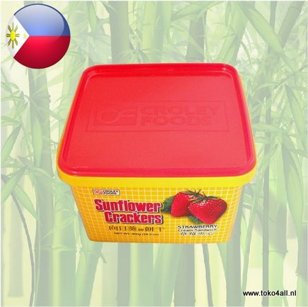 Toko 4 All - Sunflower Strawberry Crackers 800 gr