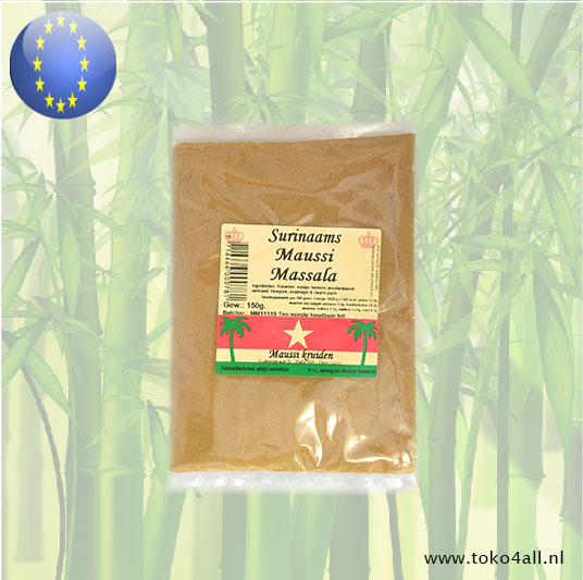 Toko 4 All - Surinamese Massala Curry 150 gr Maussi Kruiden