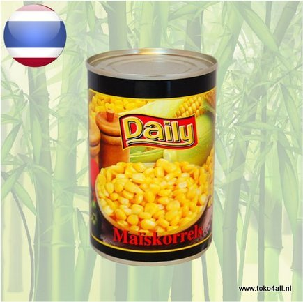 Toko 4 All - Sweet corn kernels 425 gr Daily