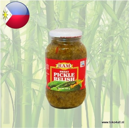 Toko 4 All - Sweet Pickle Relish 405 gr Ram