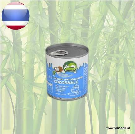 Toko 4 All - Sweetened Condensed Coconut Milk 320 gr Natures Charm