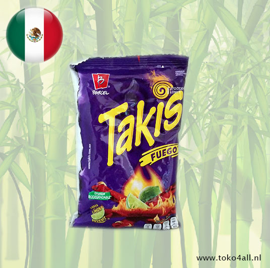 Toko 4 All - Takis Fuego 65 gr Barcel