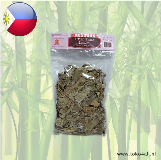Toko 4 All - Taro leaves Dried 114 gr Reysons