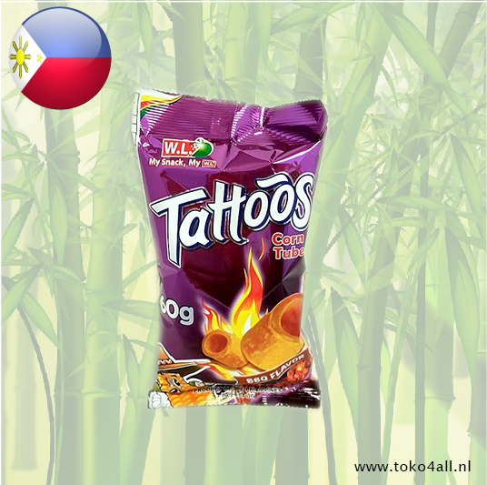 Toko 4 All - Tattoos Corn Tube Barbecue 60 gr W.L.