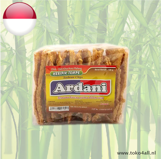 Toko 4 All - Tempe Crackers 150 gr Ardani