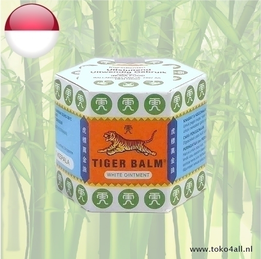 Toko 4 All - Tiger Balm White Ointment 20 gr Tiger Balm